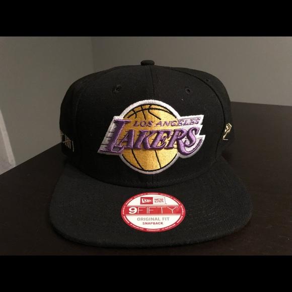 the latest 34e5a 2034b LA Lakers New Era SnapBack Championship Years NBA